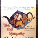 DEBORAH KERR Original TEA AND SYMPATHY Window Card POSTER John M.G.M. MGM 1956