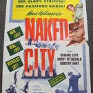 NAKED CITY Film-Noir Original 1-SHEET Movie POSTER Barry Fitzgerald HOWARD DUFF