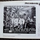 1941 PHOTO Pressbook DAN AYKROYD Tim Matheson JOHN BELUSHI War Steven Spielberg