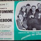MIKE STOKEY Pantomime GAME Show Book VL 2 CAROL BURNETT Dick Van Dyke TOM POSTON