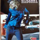 MADONNA Original PROMO Poster MINT Cowboy TOWER Records MUSIC Western Tie-in
