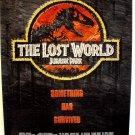 JURASSIC PARK II  Dinosaur  ORIGINAL Rolled  Universal Poster  STEVEN SPIELBERG