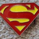 SUPERMAN Original DC Comic BELT BUCKLE CLARK KENT S Logo MAN OF STEEL Brass