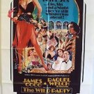 RAQUEL WELCH The WILD PARTY Original 1-SHEET Poster JAMES COCO Perry King M.G.M