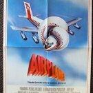 AIRPLANE! Original PROMO Folded Movie POSTER Julie Hagerty ROBERT HAYS Paramount