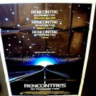 Close Encounters of the Third Kind HUGE French POSTER FRANCE Steven Spielberg 77