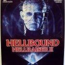 Hellbound: HELLRAISER II Original Rolled 1-Sheet POSTER Clive Barker PINHEAD