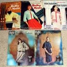KNIT CROCHET Fashion WARDROBE Couture Pattern Magazine Set YARN 1950's -1960's