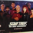 STAR TREK The NEXT GENERATION Promotional POSTER Wil Wheaton PATRICK STEWART
