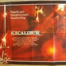 EXCALIBUR Original UK Quad British POSTER NIGEL TERRY Helen Mirren Cult Fantasy