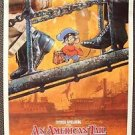 AN AMERICAN TAIL Original Rolled Movie Poster STEVEN SPIELBERG Drew Struzan  ART