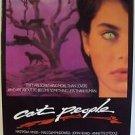 CAT PEOPLE Original ROLLED Movie POSTER Nastassja Kinski LEOPARD John Heard 1980