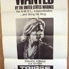 Jan-Michael Vincent TRIBES Original 1-Sheet Movie Poster EARL HOLLIMAN Marines