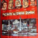 STEPHEN BOYD Sophia Loren FALL OF THE ROMAN EMPIRE Huge '64 FRENCH Poster FRANCE