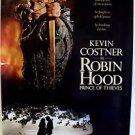 ROBIN HOOD Prince of Thieves ORIGINAL Rolled KEVIN COSTNER Movie POSTER Warner