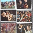 ALFRED THE GREAT Original LOBBY CARD Set DAVID HEMMINGS Shirtless MICHAEL YORK