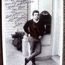 MICHAEL CHRISTIAN Original SIGNED in Person AUTOGRAPH Photo PEYTON PLACE 1968