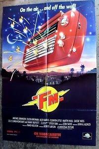 FM Original F.M. Promo Movie POSTER Michael Brandon EILEEN BRENNAN Alex Karras