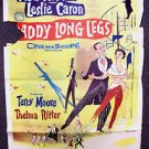 DADDY LONG LEGS Original 1-Sheet Poster LESLIE CARON Fred Astaire 1955 Musical