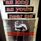 MARIA SCHELL Original AS LONG AS YOU'RE NEAR ME Huge 3-SHEET Poster VINTAGE 1953