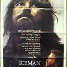 ICEMAN Original 1-Sheet MOVIE Poster TIMOTHY HUTTON John Lone ICE MAN 1984