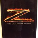 "LEGEND OF ZORRO Original ADVANCE Teaser ""Z""  ANTONIO BANDERAS  Movie POSTER 2004"