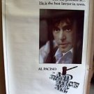 AL PACINO Original ...AND JUSTICE FOR ALL 1-Sheet POSTER Rolled JOHN FORSYTHE 79