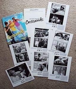 BRITNEY SPEARS Original CROSSROADS Photo PRESS KIT Zoe Saldana TARYN MANNING '02