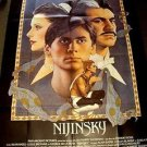 NIJINSKY Richard Amsel Artwork ALAN BATES George De La Pena FRENCH Poster FRANCE