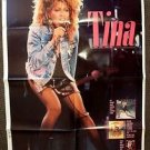 TINA TURNER Original PROMO Poster PRIVATE DANCER Tour MAD MAX Capital Records 85