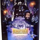 EMPIRE STRIKES BACK Original  DREW STRUZAN Star Wars Double Sided 1-Sheet POSTER