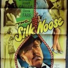 CAROLE LANDIS The SILK NOOSE Film Noir MONOGRAM 1-Sheet Movie PosterORIGINAL