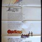 CRACKERS Original 1-SHEET Poster DONALD SUTHERLAND Jack Warden SEAN PENN  830110