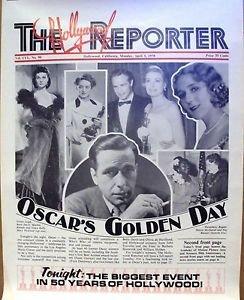 VIVIEN LEIGH Grace Kelly HUMPHREY BOGART Bette Davis ACADEMY AWARD Poster OSCAR