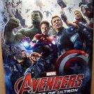 AVENGERS Age of Ultron MOVIE Poster MARVEL Robert Downey Jr CHRIS EVANS Ironman