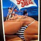 SPRING BREAK Bikini 1-Sheet Movie POSTER Paul Land STEVE BASSETT Sex Romp CAMPY