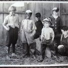 OUR GANG Original 1922 HAL ROACH Studios PHOTO Fire Fighters JACKIE CONDON
