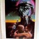 THX - 1138 Original GEORGE LUCAS Printers POSTER Robert Duvall  pre STAR WARS