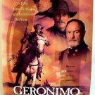 GERONIMO  AMERICAN LEGEND Rolled POSTER Jason Patric ROBERT DUVALL Gene Hackman