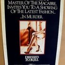 DRESSED TO KILL Brian De Palma ORIGINAL POSTER Angie Dickinson MICHAEL CAINE '80