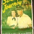 STRANGE JOURNEY 1-Sheet Movie Poster PAUL KELLY Hillary Brooke OSA MASSEN 1946