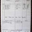 PLANET EARTH Sci-Fi JOHN SAXON Original CALL SHEET Warner Bros. TED CASSIDY 1974