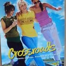 BRITNEY SPEARS Original CROSSROADS Movie POSTER Zoe Saldana TARYN MANNING 2002