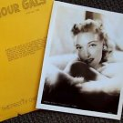 KARIN BOOTH Original 1947 MGM GLAMOUR Headshot PORTRAIT Photo Loew's M.G.M 1947