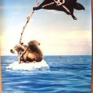 ICE AGE: Continental Drift SID Original MOVIE POSTER Advance John Leguizamo 2012