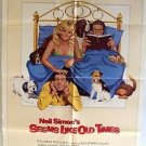 SEEMS LIKE OLD TIMES Original 1-Sheet POSTER Chevy Chase GOLDIE HAWN Neil Simon