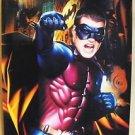 BATMAN FOREVER Original CHRIS O'DONNELL Advance POSTER Warner Bros DC Comics '95