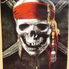 PIRATES OF THE CARIBBEAN Advance DISNEY Movie POSTER Johnny Depp ORIGINAL 2011