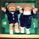 Cabbage Patch Kids TWINS Doll Set COLECO 1985 Limited Edition Dolls in Box KID