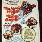 ED SULLIVAN The MAGIC WORLD OF TOPO GIGIO Mouse 1-Sheet Movie Poster ORIGINAL 65